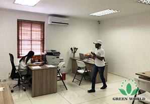 办公室内景照-市场快讯 绿世界国际南非开普敦分公司办公楼启用典礼